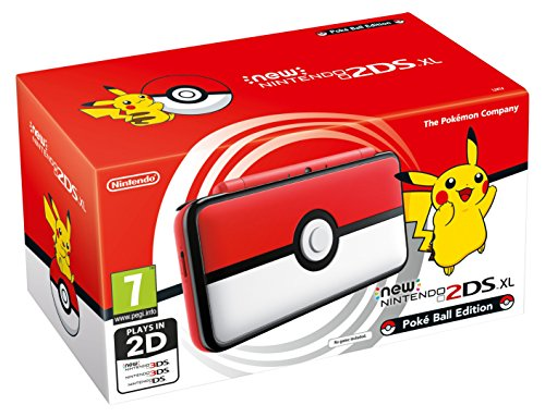 Nintendo Handheld Console - New Nintendo 2DS XL, Poké Ball Edition - Nintendo 3DS [Importación inglesa]