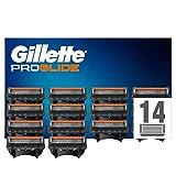 Gillette Fusion 5 Proglide Lames de Rasoir Homme, Pack de 14 Lames de Recharges [OFFICIEL]