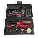 Master Appliance PI-20SiK Professional Cordless Butane Soldering Iron Kit - Self-Igniting w/ Adjustable Temperature - 680F - 820F