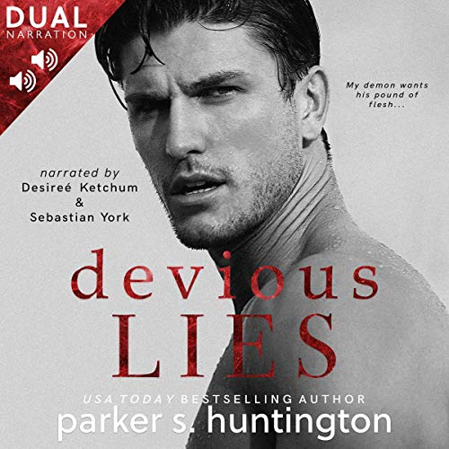 Devious Lies audiobook cover art