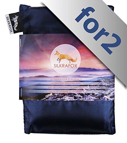 Silkrafox for 2 - Saco Dormir Ultraligero Las excursiones