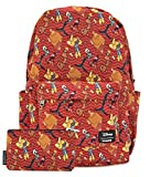 Loungefly Disney Emperors New Groove Nylon Backpack and Pouch Set