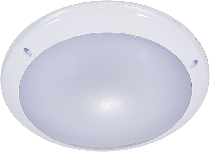 Lumière ronde de cloison de ZEYUN LED avec le détecteur de mouveHommest invisible, plafonnier en aluminium 10m, 25W superbe lumineux 1900lm, 4000K, IP54