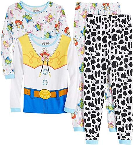 Toy Story Disney 4 Jessie Girls 4 Piece Pajama Set (4)