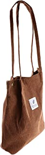 Baosity Ladies Durable Canvas Tote Bag Large Capacity Handbag Fashion Shoulder Shopper