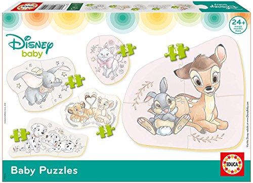 Educa Borrás- Disney Baby Puzzles (17755)