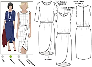 Style Arc Sewing Pattern - Cameron Dress (Sizes 04-16) - Click for Other Sizes Available