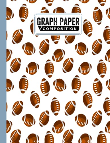"""Graph Paper Composition Notebook: Rugby Cover 