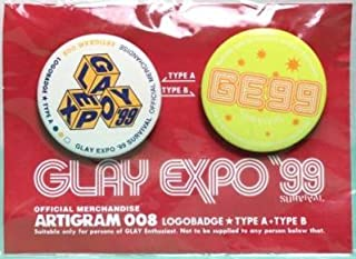 GLAY EXPO '99 SURVIVAL 缶バッジ2コセット