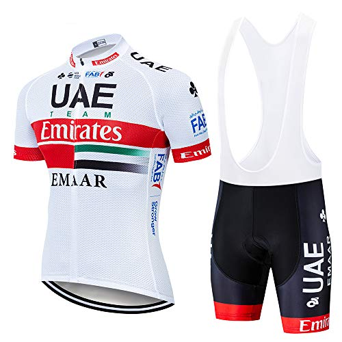 Traje de Ciclismo Verano Maillots de Ciclismo Hombres Camiseta y Pantalones Cortos de Ciclismo Conjunto de Ropa para Ciclismo