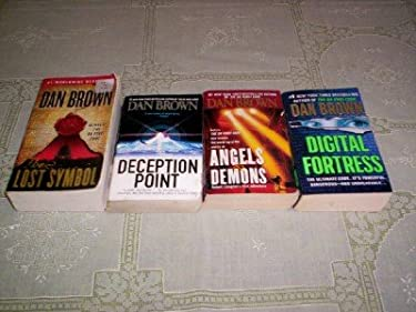 Dan Brown - (Set of 4) - Not a Boxed Set (Deception Point - Digital Fortress - Angels & Demons - The Lost Symbol)