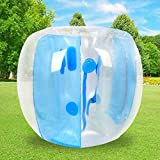 Wodesid Inflatable Bumper Bubble Soccer Balls for Adults Bumper Ball Giant Human Hamster Body Zorb Ball for Schools, Leisure centres, Parks Outdoor Team Gaming Play (4FT/1.2m)