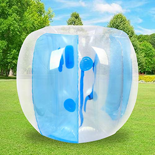 Bumper Bubble Soccer Balls for Kids/Teens/Adults 1.2M/4FT Inflatable Bumper Ball Giant Human Hamster Body Zorb Ball for Schools, Leisure centres, Parks Outdoor Team Gaming Play (4FT/1.2m)