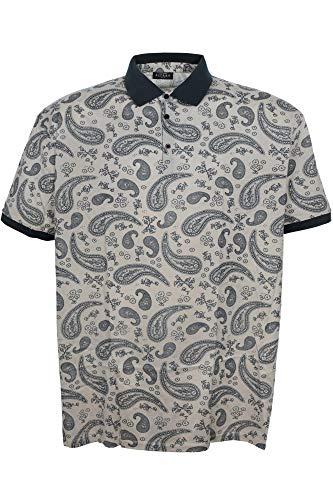 Preisvergleich Produktbild Kitaro Poloshirt Polo Shirt Hemd Herren Kurzarm Baumwolle Plusgröße,  Herrengrößen:6XL,  Farbe:Sand