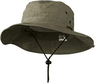 Extra Big Size Brushed Twill Aussie Hats
