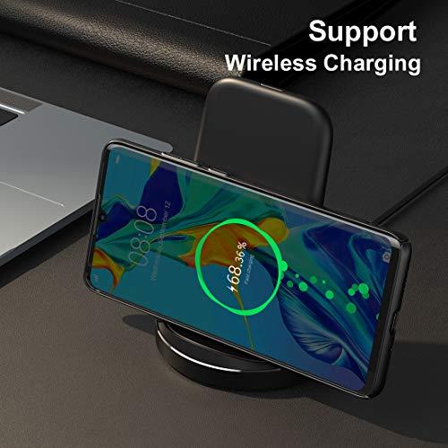 Humixx Hülle für Huawei P30 Pro, Hochwertigem Ultra Dünn Leichte Handyhülle Stoßfest, Anti-Fingerprint, Anti-Scratch Feine Matte Cover Schutzhülle Schale Hardcase für Huawei P30 Pro - 6