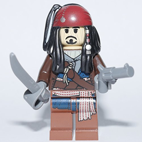 LEGO® Pirates of the Caribbean™ Minifigur Captian Jack Sparrow Voodoo with weapons