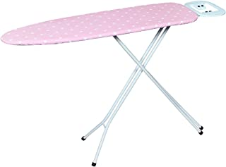 Meded Premium International Quality Ironing Board/Iron Table Stand with Press Holder, Foldable & Height Adjustable Height ...