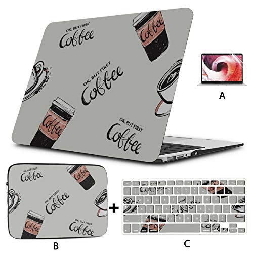 13 Inch Laptop Case Creative Colorful Life Paper Cup A1706 Macbook Pro Case Hard Shell Mac Air 11'/13' Pro 13'/15'/16' With Notebook Sleeve Bag For Macbook 2008-2020 Version