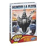 Hasbro Gaming- Hundir la Flota Viaje Gaming Travel Juego de Estrategia, Multicolor (B0995175)
