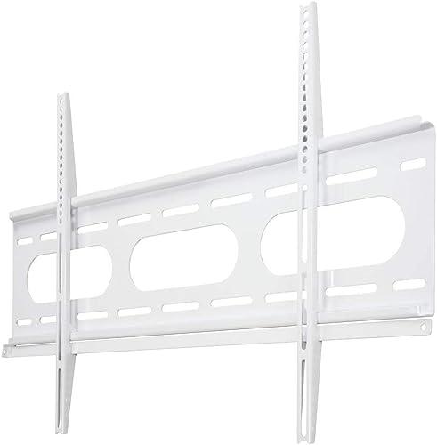 Hama Support mural TV Ultraslim Fixe (pour diagonale d'écran de 94 à 229 cm (37'' et 90''), pour un maximum de 75 kg,...