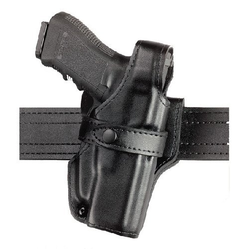 Safariland 070 Level III Retention Duty Holster, Mid-Ride, Black, Nylon Look Right Hand, Colt Government