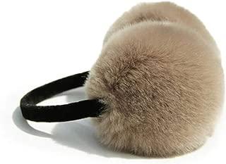 WZYJ Cuffie Orecchie da Gatto a Forma di Fumetto Cuffie pelose scaldini per Orecchie Inverno Caldo Design da Donna Cuffie Regolabili Calde Antivento,Marrone