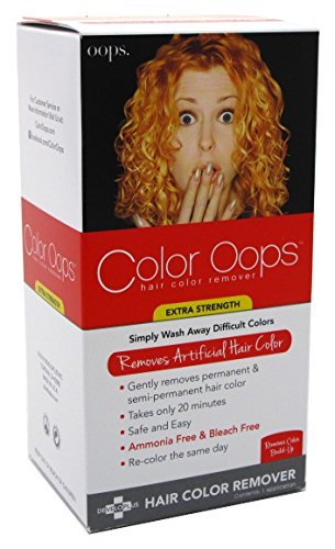 Color Oops Hair Color Remover Extra Strength 1 Each by Color Oops