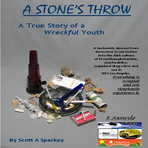 A Stone's Throw: The True Story of a Wreckful Youth  By  cover art