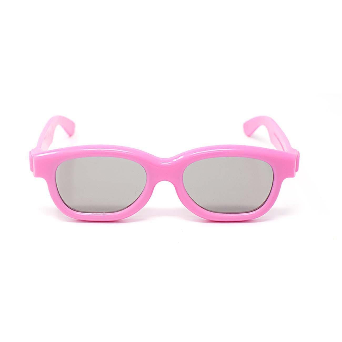 Ultra Rosa 5 Par de Gafas 3D Pasivo para Niños para Uso con Todas ...