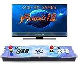[3400 Juegos clásicos] 3400 Juegos Retro Consola Maquina Arcade Video 2 Jugadores Pandora's Box 12 1280x720 Full HD VGA/HDMI/USB