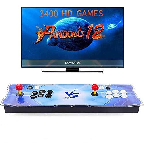 [3400 Juegos clásicos] 3400 Juegos Retro Consola Maquina Arcade Video 2 Jugadores Pandora