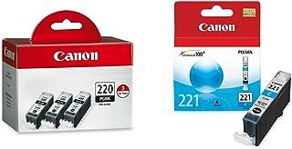 Canon PGI-220 Black Triple Pack Compatible to MP980, MP560, MP620, MP640, MP990, MX860, MX870, iP4600, iP3600, iP4700 & Ge...
