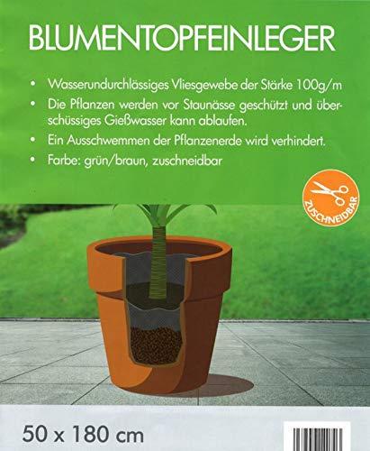Gardissimo 5 x Trennvlies für Topfpflanzen je 180 x 50 cm - 100 g/m²
