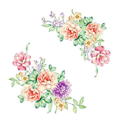 Chytaii - Adhesivo Decorativo para Pared, diseño de Flores