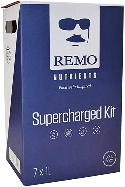Remo Nutrients RN70010 Remo's 1L Supercharged Kit Nutrient, Blue