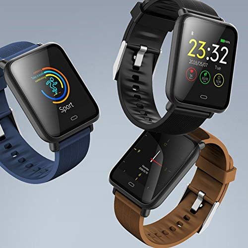 Etophigh Q9 Fitness Tracker, Pantalla a Color de Moda Pulsera Deportiva Inteligente, Reloj Deportivo Impermeable con Monitor de Ritmo cardíaco, Contador de Pasos, Monitor de sueño