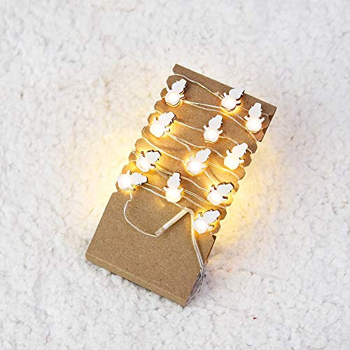Led Kupferdraht Lampe String Ball Lampe String im Freien dekorative Lampe,Weihnachtslichterkette, Kugelbirne, Außenlichterketten,Ceramic Lawn Lightning Protection Wasserdichter (E)