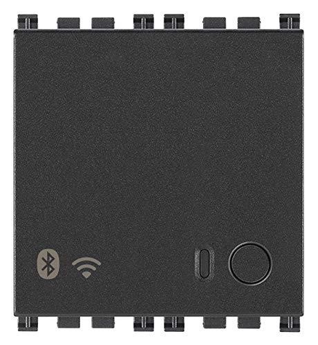 Vimar 19597 Arke Gateway IoT Bluetooth Wi Fi fur Integration Konfiguration Uberwachung von Wireless VIEW uber Cloud und App 2 Module