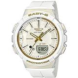 [カシオ] 腕時計 ベビージー FOR SPORTS 歩数計測 機能つき BGS-100GS-7AJF レディース ホワイト