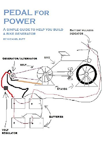 Pedal for Power: A simple guide to help you build a bike powered generator (English Edition)