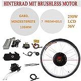 RANZIX Kit de conversión para bicicleta eléctrica de 28 pulgadas,...