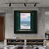 KWzEQ Naturaleza Muerta Abstracta Paisaje Moderno Lienzo Pintura Cartel Pared galería de imágenes Sala de Estar Dormitorio decoración del hogar,40X40cm,Pintura sin Marco