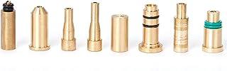 GAOHOU 8 en 1 juego Adaptadores de repuesto de repuesto de gas para vestido S T Dupont Dunhill/rollagas (8 piezas)