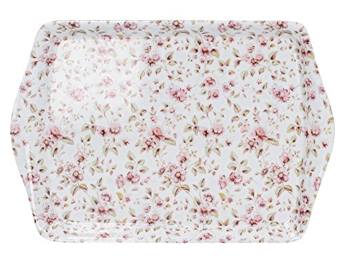 Creative Tops Katie Alice Ditsy Floral Mini-Serviertablett aus Melamin,
