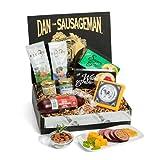 Dan the Sausageman s Yukon Gourmet Gift Basket -Featuring Dan s Original Sausage, 100% Wisconsin Cheese, and Dan s Sweet Hot Mustard