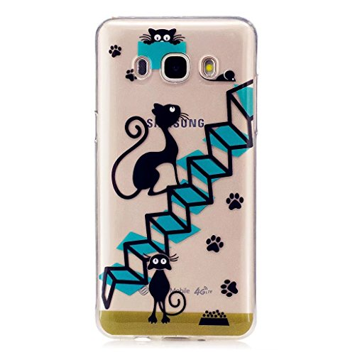 Samsung Galaxy J5 (2016) SM-J510F Funda - MUTOUREN Chic Elegante Carcasa Rigida...
