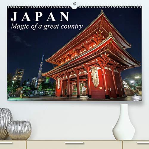 Japan Magic of a great country (Premium-Calendar 2021 DIN A2 Landscape)