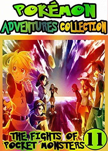 Pocket Adventure: Collection Pack 11 - Pocket Monsters Manga Adventures Pokemon Graphic Novel For Kids, Children (English Edition)