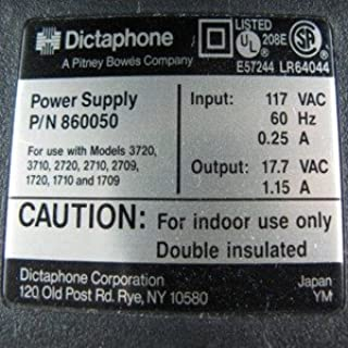 Dictaphone 860050 Power Supply Transcriber Older Models